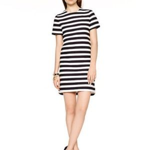 Kate Spade striped shift dress